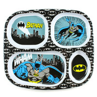 Bumkins: Melamine Divided Plate - Batman image