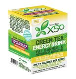 Green Tea X50 - Lemon & Ginger (30 Sachets)