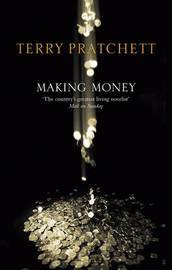 Making Money (Discworld - Moist von Lipwig) (black cover) by Terry Pratchett image