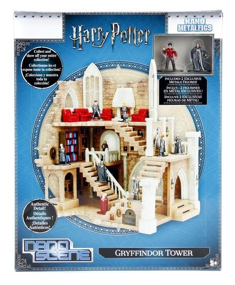 Jada Metal Minis: Harry Potter - Nano Metalfigs Gryffindor Tower Playset