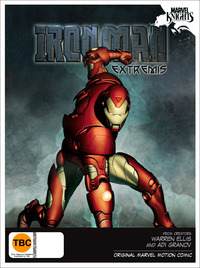 Marvel Knights: The Invincible Iron Man: Extremis on DVD