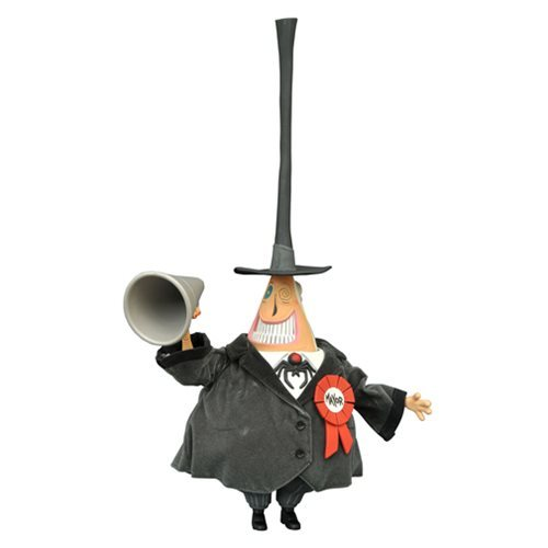 "Nightmare Before Christmas: The Mayor - 6"" Deluxe Cloth Figure"