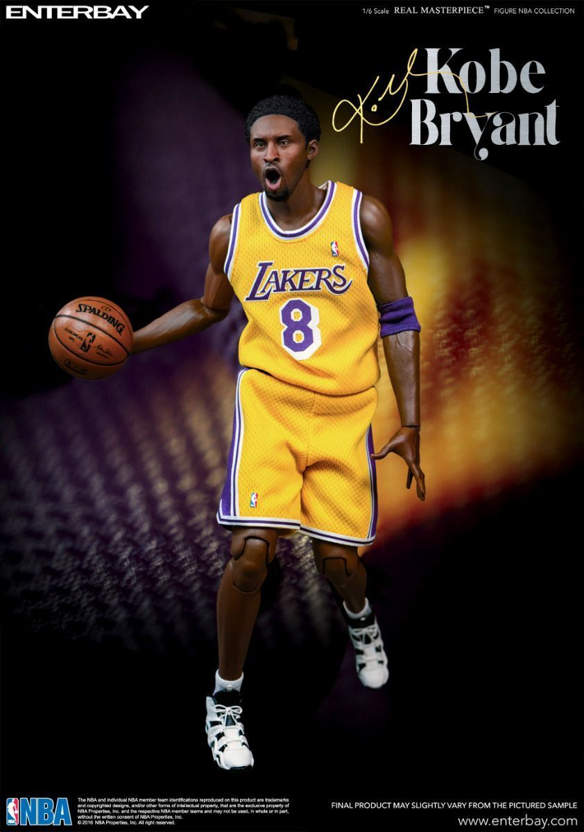 ... NBA  Kobe Bryant - 1 6 Scale Action Figure image ... fdbe2a9b4