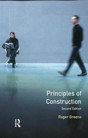 Principles of Construction by Roger Greeno image