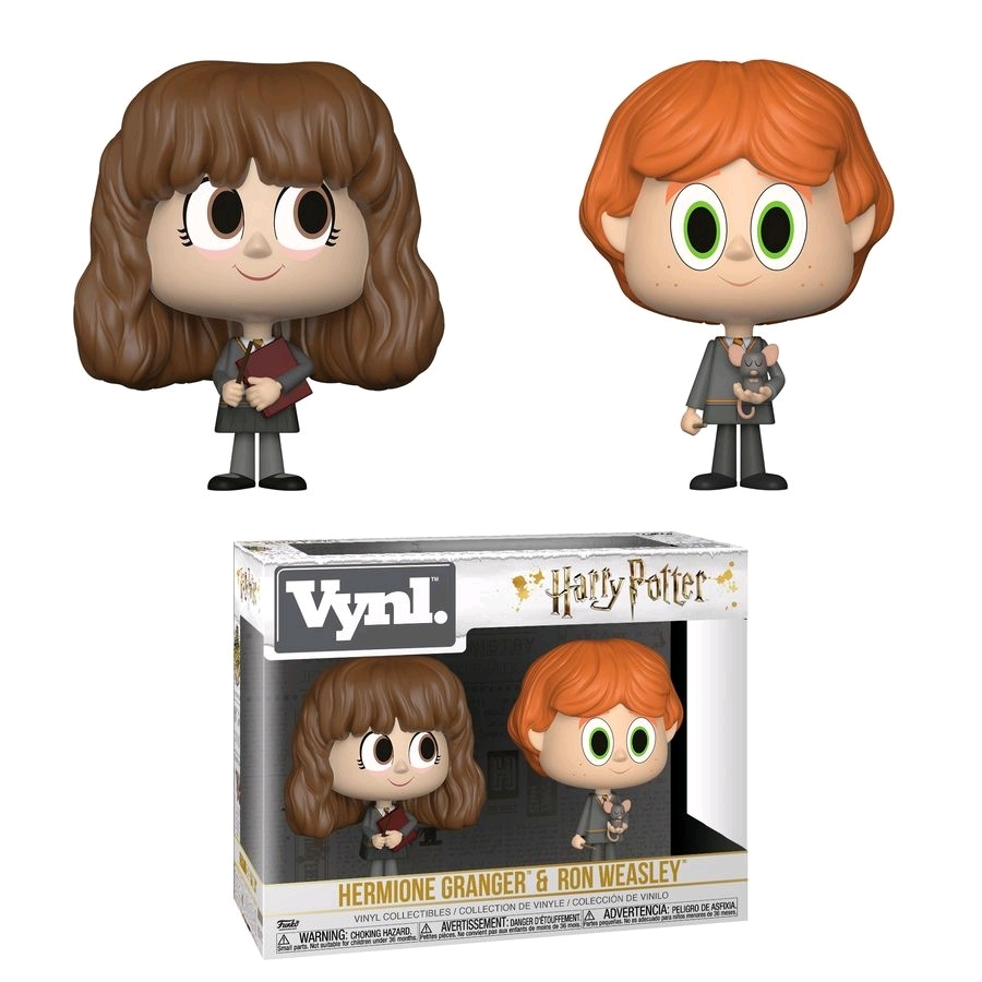 Ron + Hermione - Vynl. Figure 2-Pack image