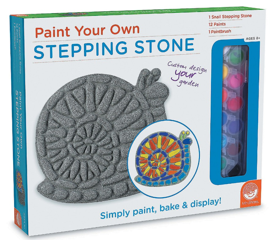 Mindware Create: Paint Your Own - Snail Stepping Stone image