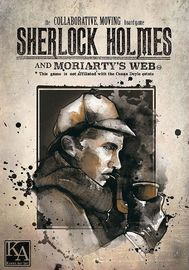 Sherlock Holmes and Moriartys Web - Co-Operative Crime Solving Game