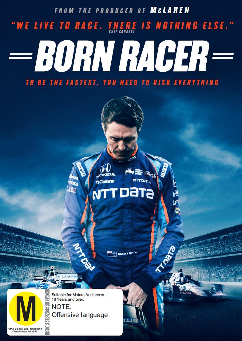 Born Racer: The Scott Dixon Story on DVD image