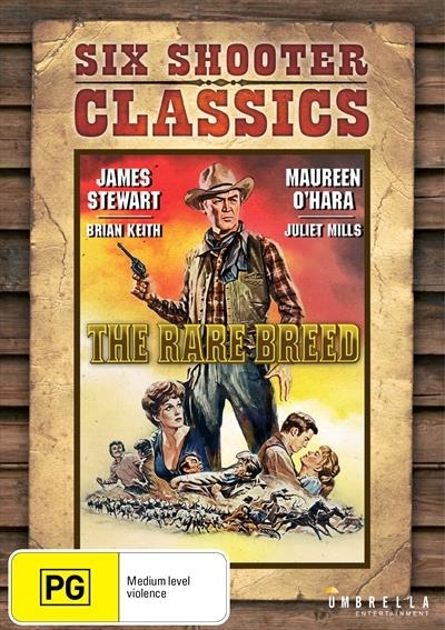 The Rare Breed (Six Shooter Classic) on DVD