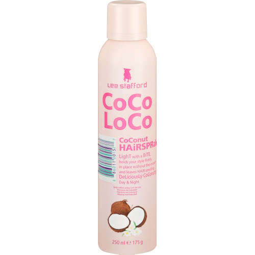Lee Stafford Coco Loco - Coconut Hairspray (250ml)