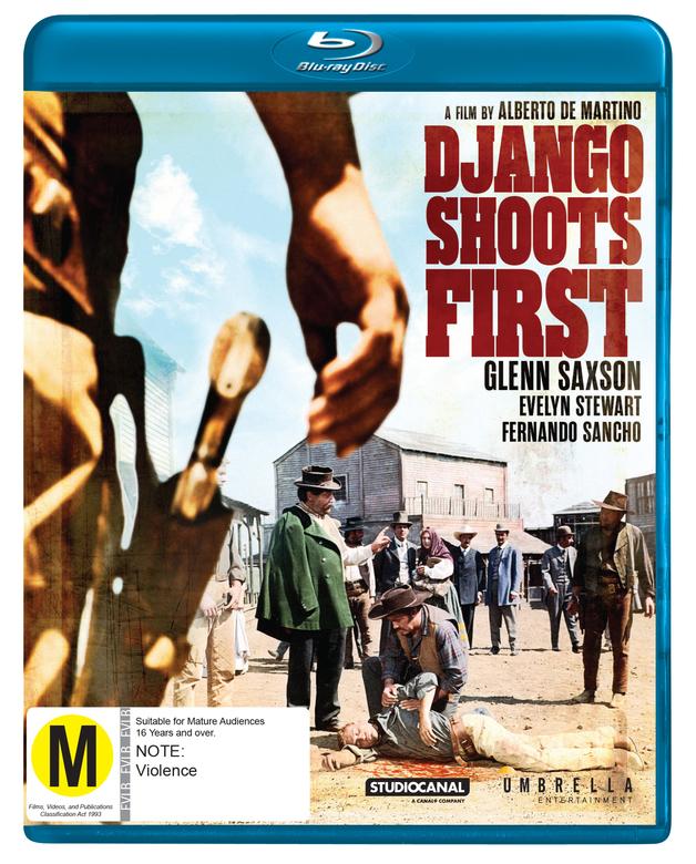 Django Shoots First on Blu-ray