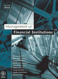 Management of Financial Institutions 2E by Warren Hogan image