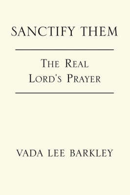 Sanctify Them by Vada , Lee Barkley image