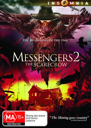 Messengers 2: The Scarecrow on DVD image