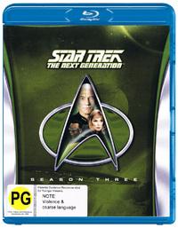 Star Trek The Next Generation - The Complete Third Season on Blu-ray image