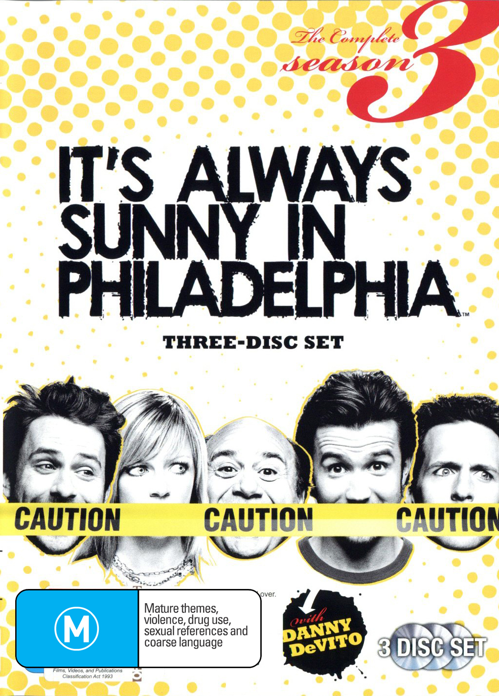 It\'s Always Sunny in Philadelphia - Series 3 (3 Disc Set) | DVD | In ...
