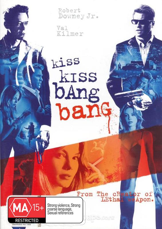 Kiss Kiss Bang Bang on DVD