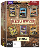Horrible Histories - Season 1-6 DVD