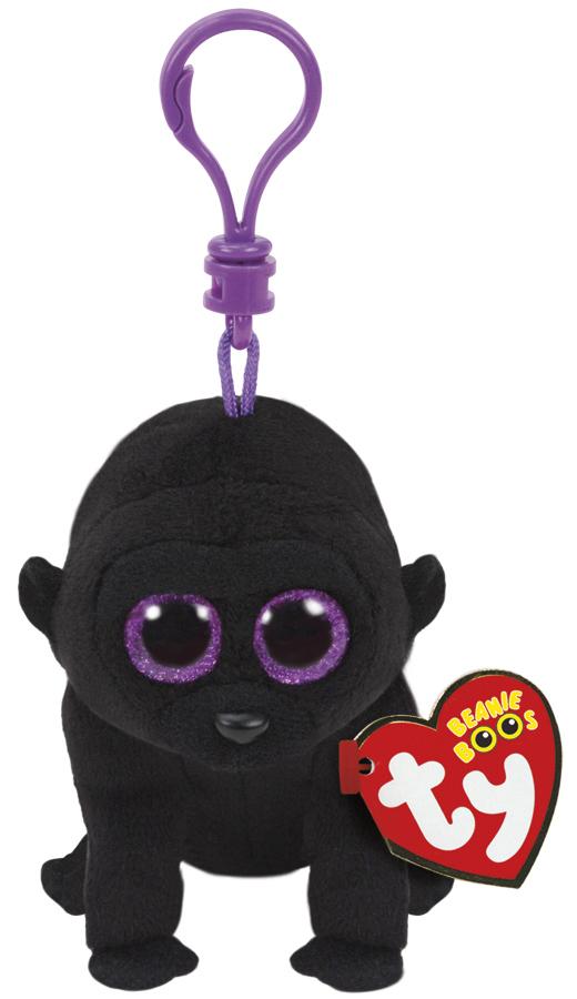 Ty Beanie Boos: George Gorilla - Clip On Plush image