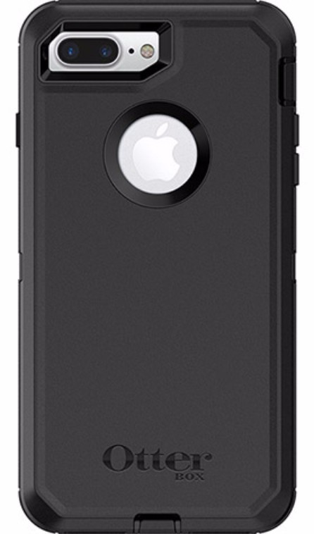 online retailer 1a163 214f8 OtterBox Defender Case for iPhone 7 Plus/8 Plus - Black | at Mighty ...