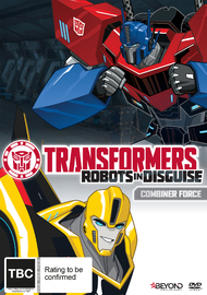 Transformers Robots In Disguise: Combiner Force on DVD