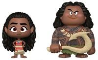 Moana + Maui - Vynl. Figure 2-Pack
