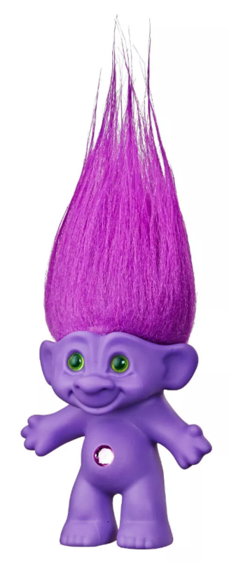 "Trolls: 60th Anniversary - 6"" Retro Doll (Good Luck Purple)"