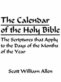 The Calendar of the Holy Bible by Scott William Allen image
