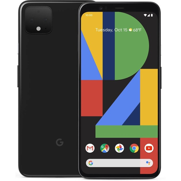 Google Pixel 4 - 64GB (Unlocked) - Just Black