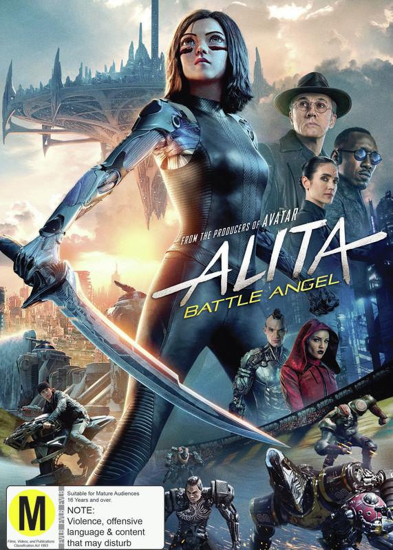 Alita: Battle Angel on DVD
