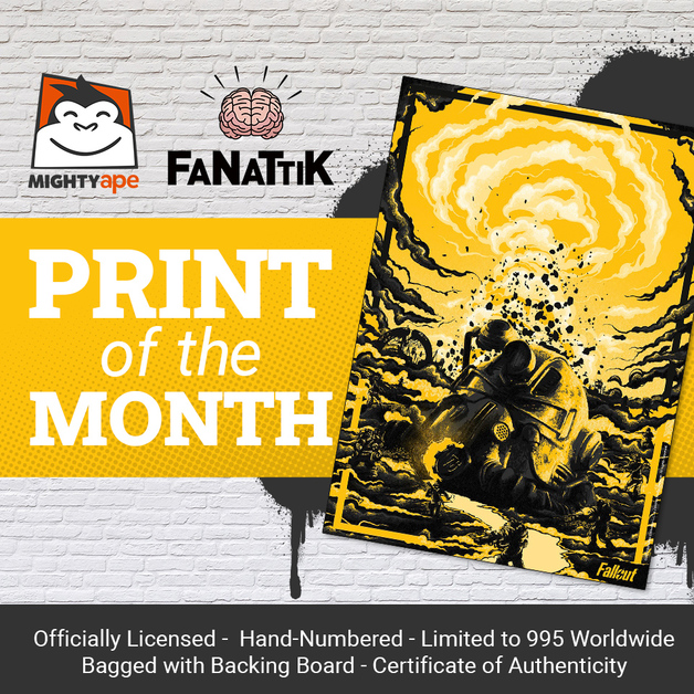 Fanattik: Fallout - Premium Art Print (March 2021)