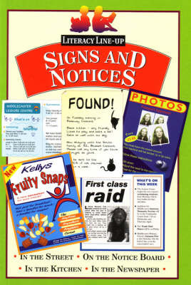 Signs and Notices: Pack of Six by David Orme image