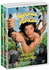 George Of The Jungle / George Of The Jungle 2 on DVD