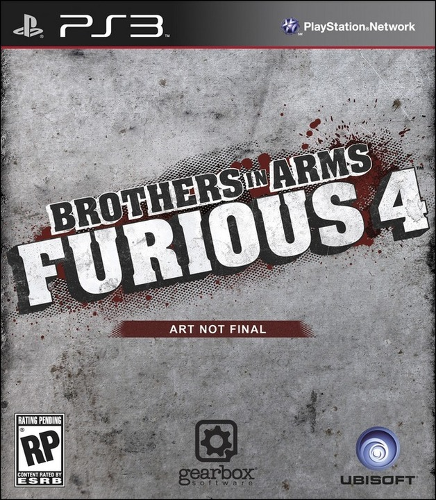 Brothers In Arms Furious 4 for PS3