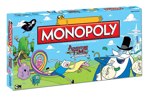 Monopoly Board Game - Adventure Time