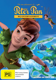 The New Adventures Of Peter Pan: Season 1 - Volume 3 on DVD