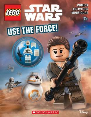 Use the Force! (Lego Star Wars: Activity Book with Minifigure) by Ameet Studio