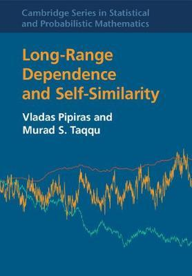 Long-Range Dependence and Self-Similarity by Vladas Pipiras image