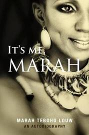 It's Me, Marah by Marah Louw image