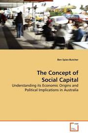 The Concept of Social Capital by Ben Spies-Butcher image