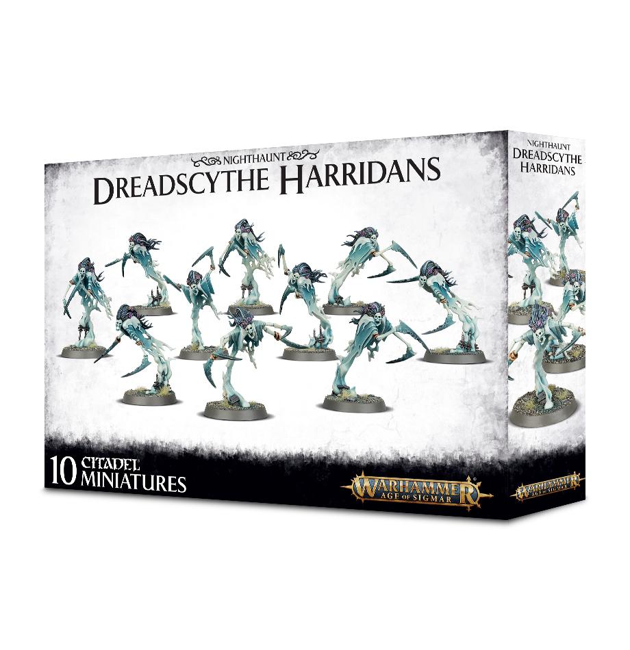 Warhammer Age of Sigmar: Nighthaunt Dreadscythe Harridans image