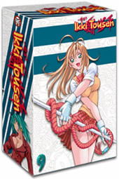 Ikki Tousen - Vol 1- Legendary Fighter & Collector's Box on DVD
