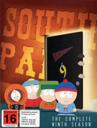 South Park - The Complete Ninth Season (3 Disc Set) on DVD