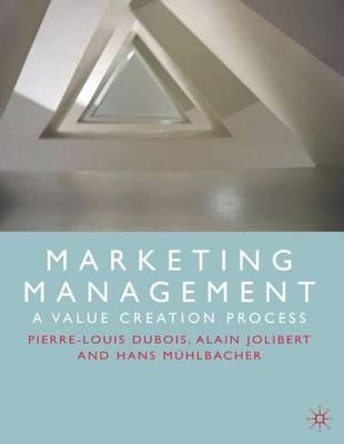 Marketing Management by Pierre-Louis Dubois image