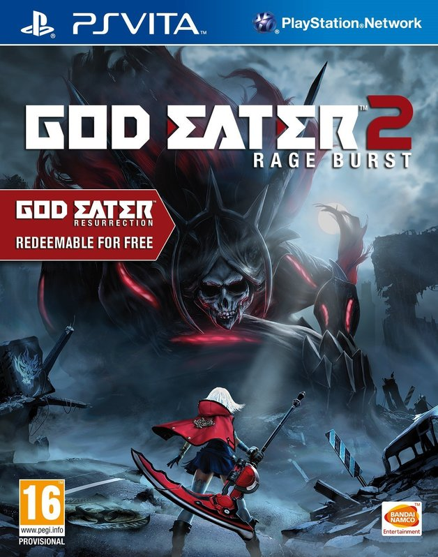God Eater 2: Rage Burst (Includes God Eater Resurrection) for PlayStation Vita