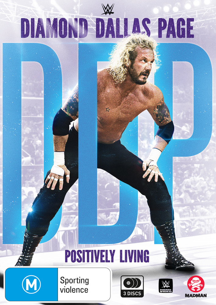 WWE: Diamond Dallas Page: Positively Living on DVD image