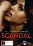 Scandal - The Complete Fifth Season DVD