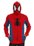 Spider-man - Full-Zip Costume Hoodie (Medium)