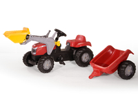 Rolly Kid - Massey Ferguson with Trailer and Front Loader image