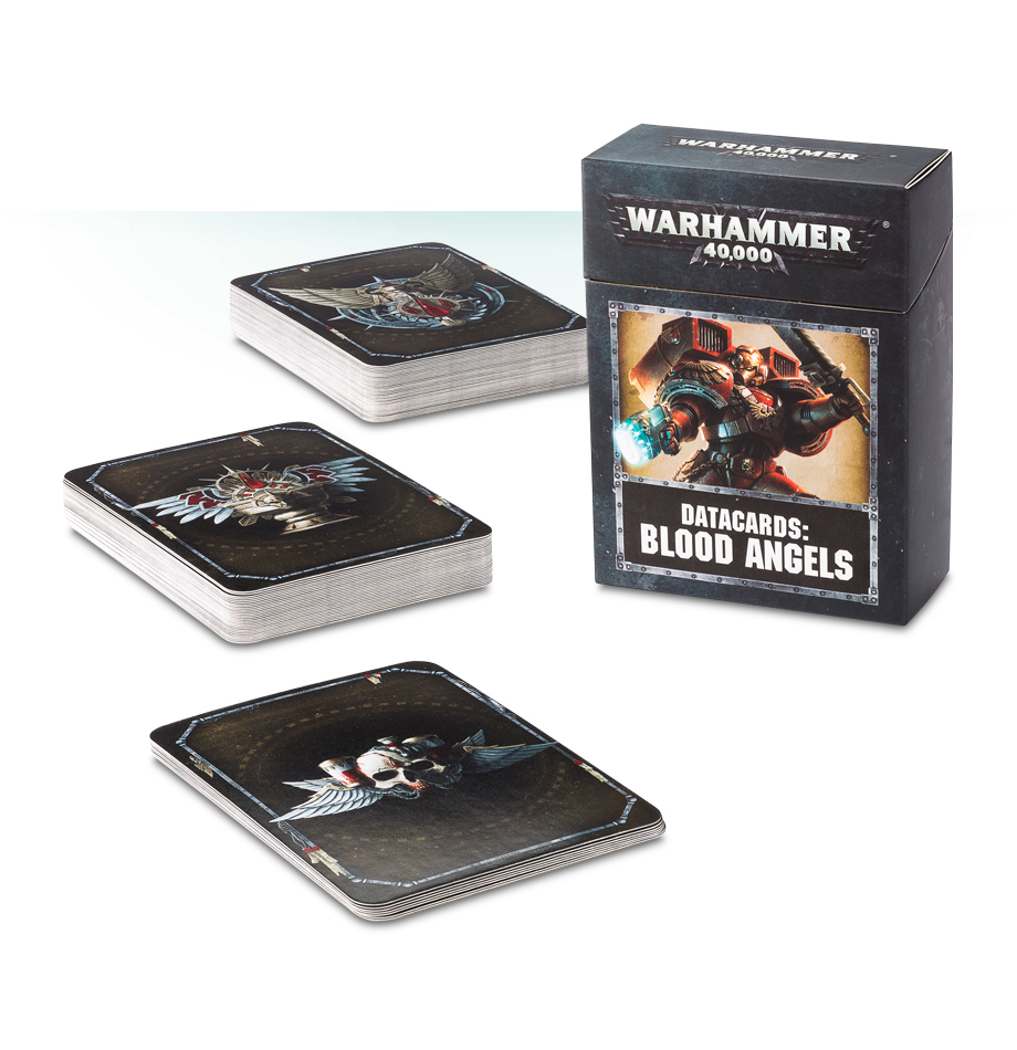 Warhammer 40,000 Datacards: Blood Angels image